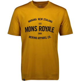 Mons Royale Icon T-Shirt Men turmeric